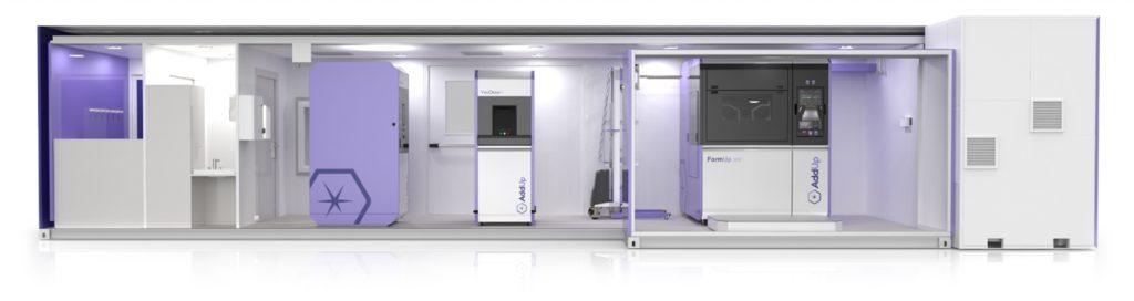 Inside AddUp's FlexCare System. Image via AddUp
