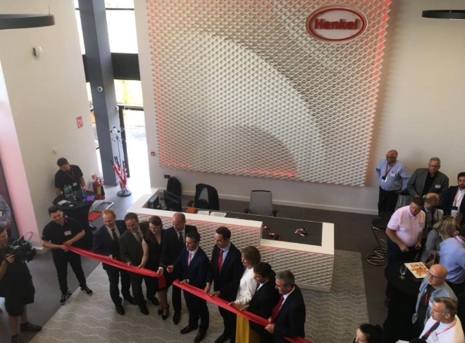 The Innovation and Interaction Centre for Additive Manufacturing opening ceremony. Photo via Henkel.