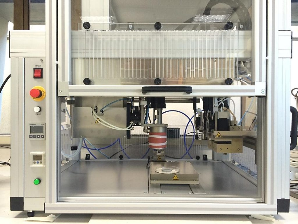 "3D bioprinter at the ""CReaTE"" Christchurch Regenerative Medicine and Tissue Engineering Group. Photo via University of Otago Christchurch"