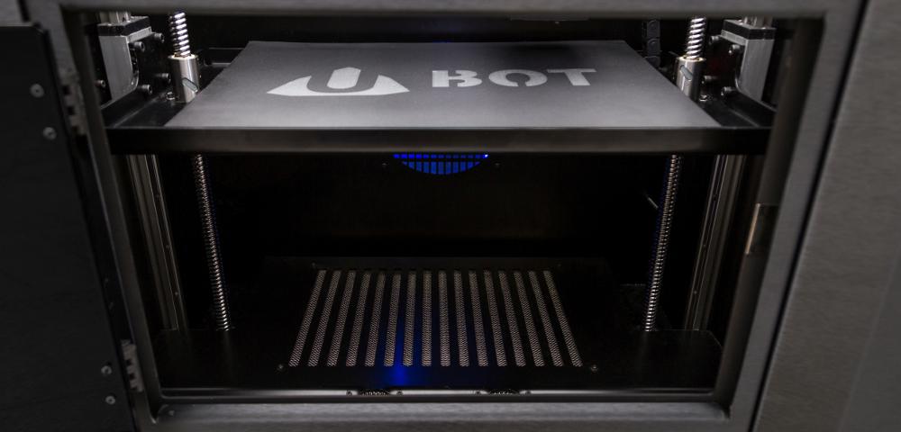 The Ubot P440 heating chamber. Photo via Ubot 3D.