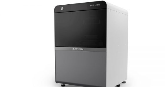 The new FabPro 1000 entry level industrial 3D Printer from 3D Systems. Photo via PRNewsfoto/3D Systems