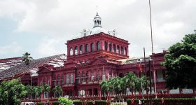 The Red House in Port of Spain, Trinidad. Photo Via Wikipedia.