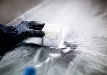 Orgasol speciality polyamide powder. Photo via: Arkema.