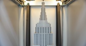 Top of the Empire State Building 3D printer by Builder 3D.