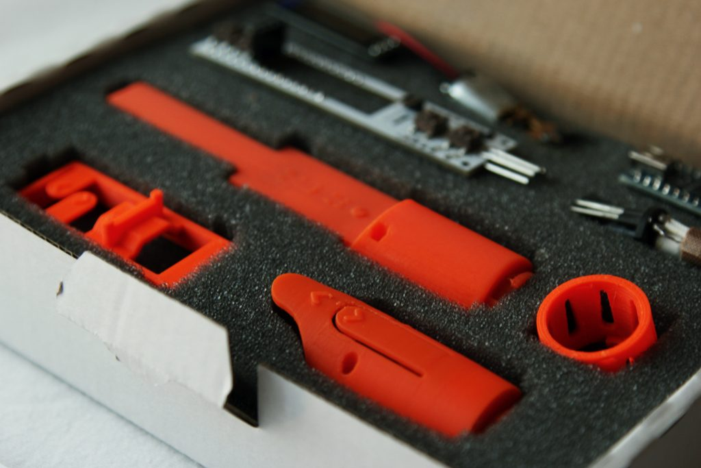 Packaging of the 3Dsimo KIT. Photo by 3D Printing Industry