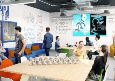 The White City Invention Rooms Design Studio. Image via Imperial College London.