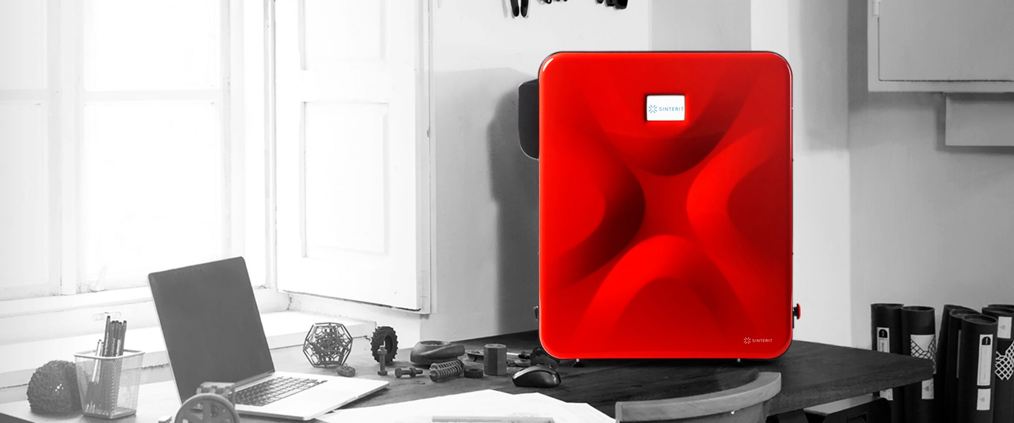 The LISA 1.5 SLS 3D printer. Image via Sinterit.