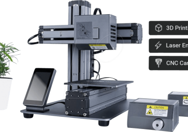 Snapmaker 3-in-1 3D printer. Image via Snapmaker.