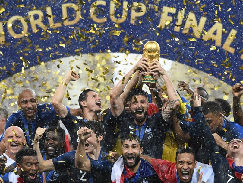 The actual winners of the 2018 World Cup - France.