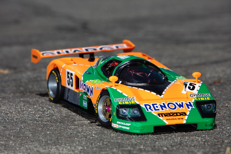 Mazda 787B 3D Printed RC Car by Brett Turnage. Photo via Pinshape.