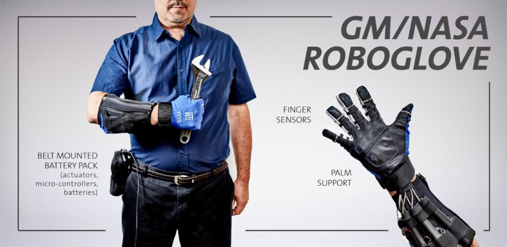 NASA-GM Robo-Glove, image via GM Corporate Newsroom