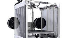 The Gigabot 3 large scale 3D printer. Photo via re:3D