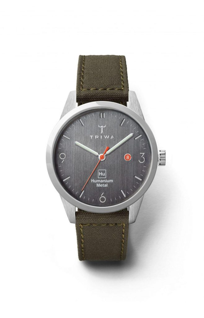 The TRIWA Humanium watch. Photo via TRIWA.