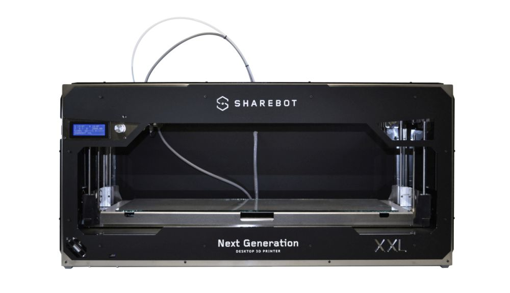 The Sharebot XXL Plus. Photo via Sharebot.