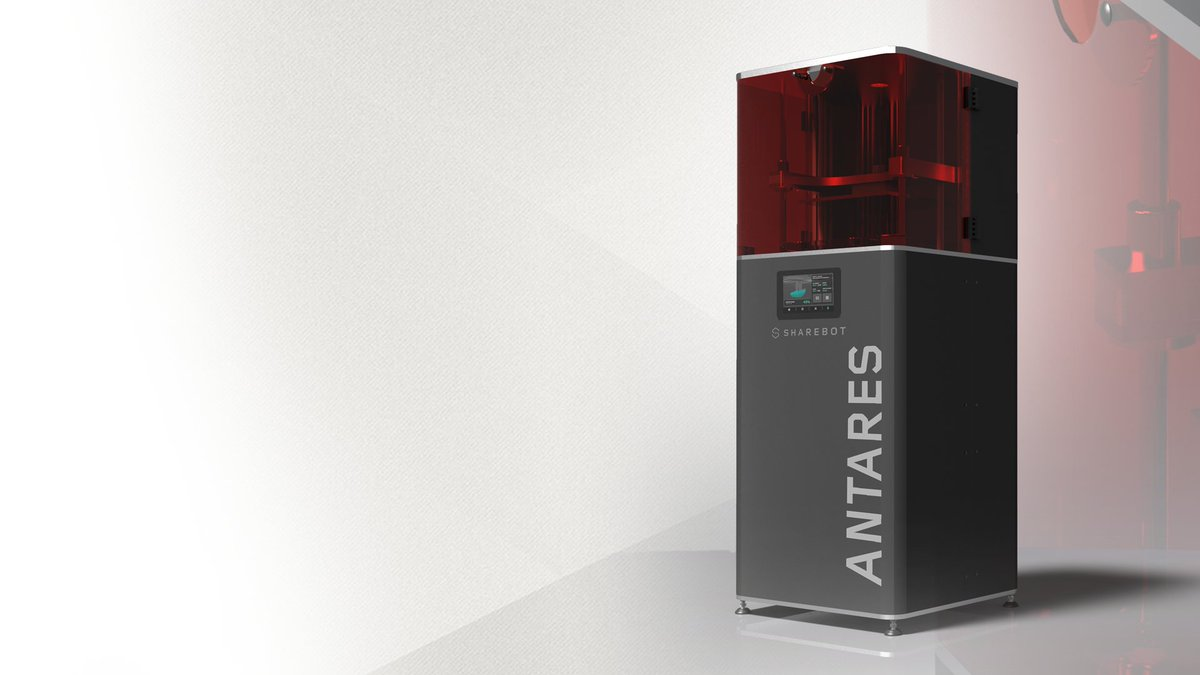 The Sharebot Antares, on the professional 3D printers to be on display at The Sharebot DE grand opening. Photo via Sharebot.