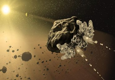 Illustration of the asteroid spacecraft. Image via Made In Space.