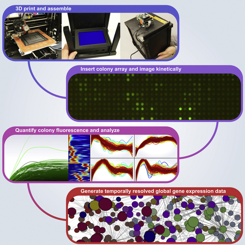 PFIbox assembly and data collection. Image via Cell Systems journal