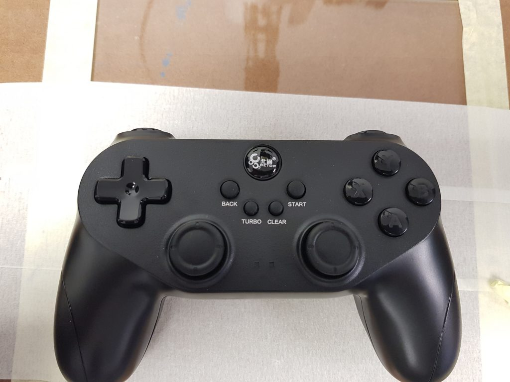 The wireless gamepad controller performed well, even up to 10m away. Photo via 3D Printing Industry
