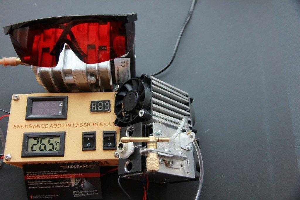 An Endurance 10 10 Watt Laser Attachment For 3d Printers