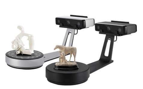EinScan-SE & EinScan-SP Desktop 3D Scanner. Image via Shining 3D.