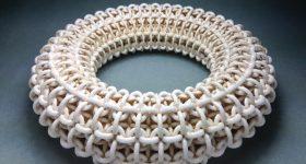 Ceramic material 3D print. Photo via Tethon 3D