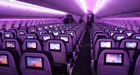 Featured image shows the interior of Air New Zealand's Boeing Boeing 787-9 Dreamliner. Photo via Air New Zealand