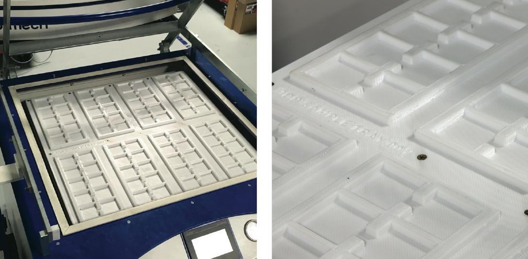 3D printed mold. Photo via 3D Platform