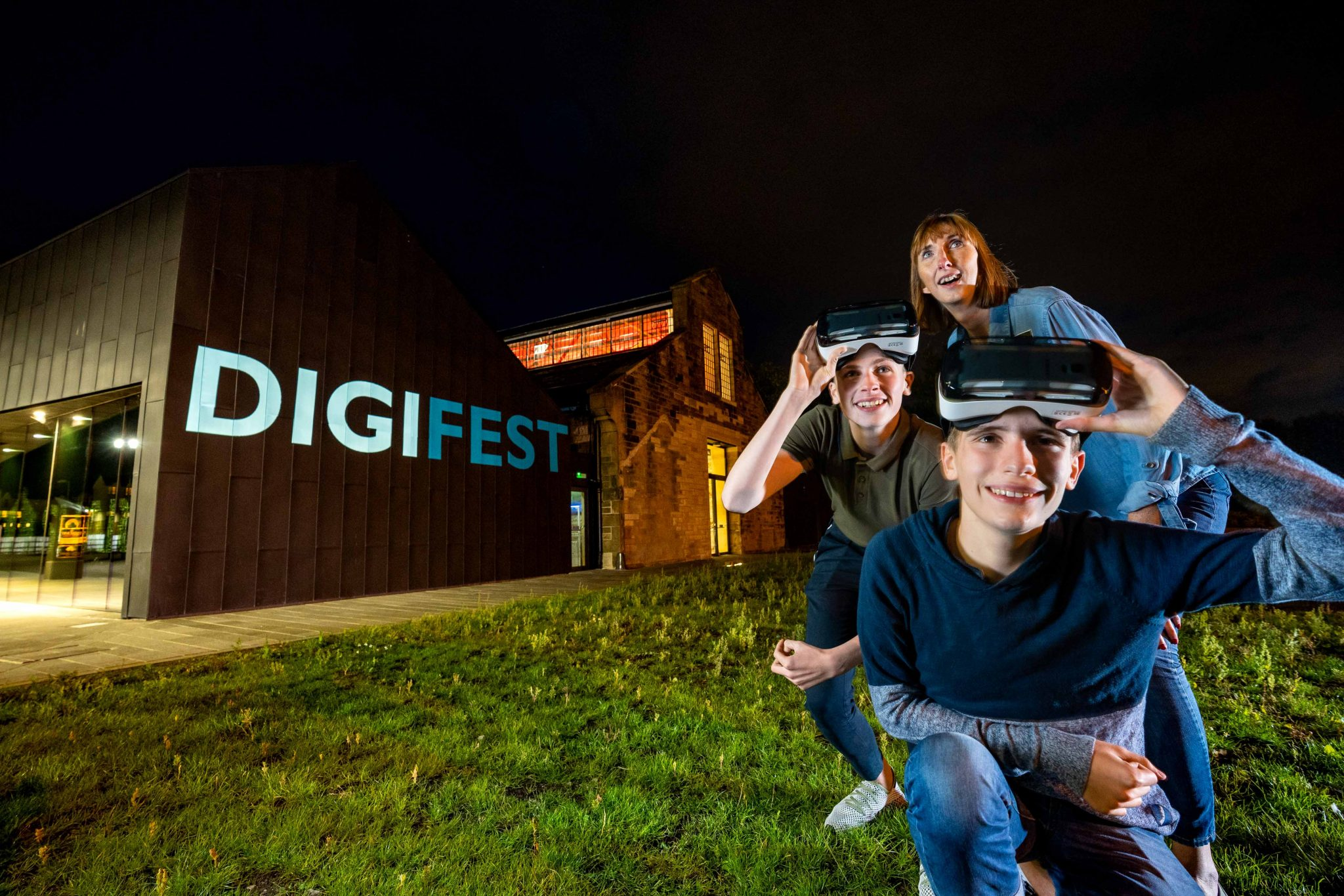 The DigiFest promotional flyer. Photo via The Engine Shed.