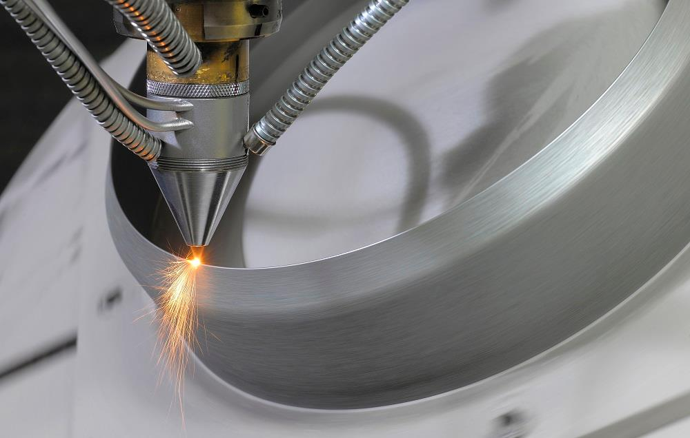 Directed energy deposition (DED) metal 3D printing technology. Photo via TWI