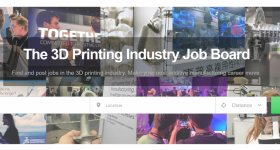 The 3D Printing Industry Jobs Board.