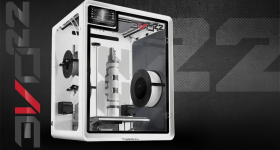 The EVO 22 printer. Photo Airwolf 3D.