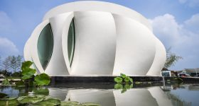 The Lotus House. Image via WashU.