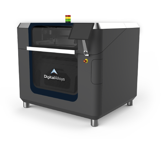 A render of the Digital Alloys metal 3D printer. Image via Digital Alloys.