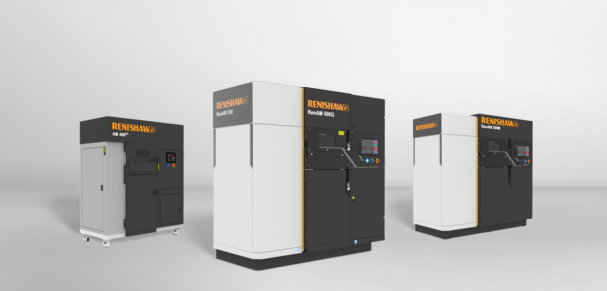 The RenAM 500 3D printing systems. Photo via Renishaw.