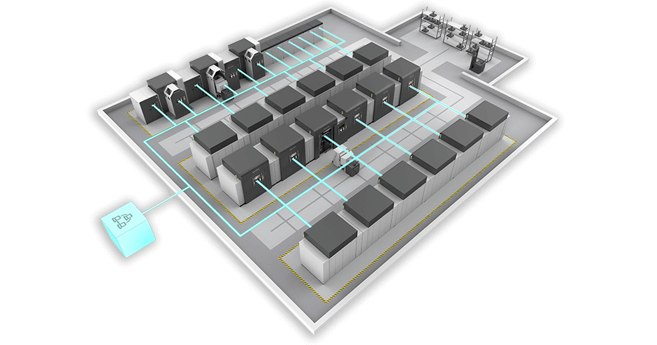 DMP 8500 Factory Solution. Image via 3D Systems.