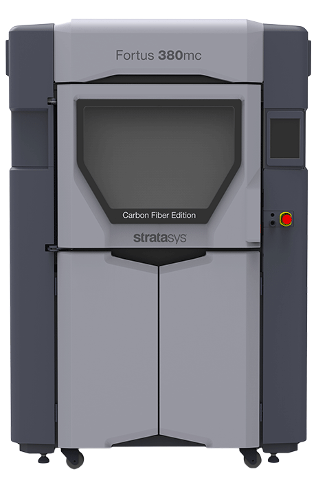 The Fortus 380mc Carbon Fiber Edition 3D printer. Photo via Stratasys.