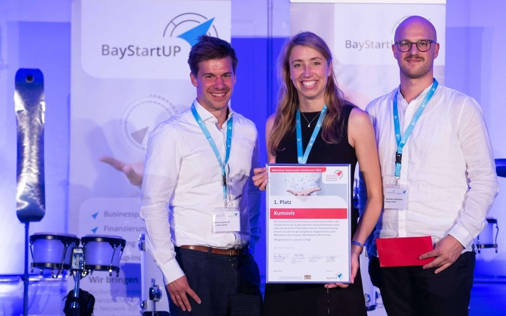 Kumovis team (left to right): Managing Partner, Stefan Leonhardt, Managing Partner, Dr. Ing. Miriam Haerst, and Co-Founder, Alexander Henhammer.