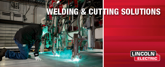 Lincoln Electric is a welding and robotic specialist. Image via Lincoln Electric.
