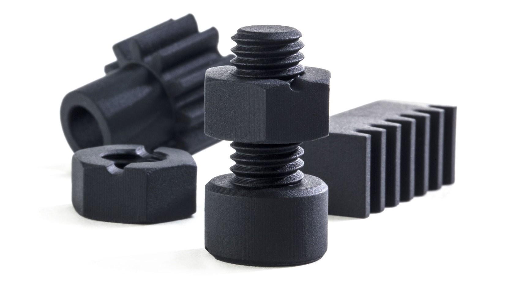 Industrial grade 3D printed parts. Photo via Fast Radius