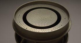 The 3D printed DLE pre-mixer. Photo via Siemens.