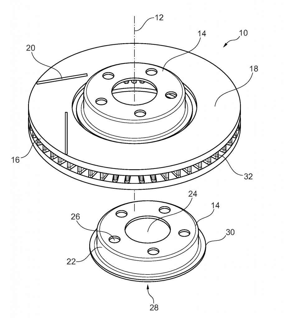 Ford Files Patent For Brake Disk 3d Printing Method Printer Diagram System Detailed Block Digram Of A Image Via Hybrid Lightweight And Production