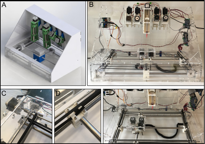 The custom-built 3D bioprinter. Image via UOT.