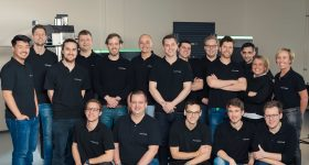 The Aconity3D team. Photo via Aconity3D.