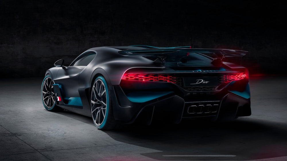The Bugatti Divo. Photo via Bugatti.