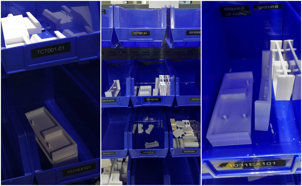 Rize 3D printed project tooling at NHF. Photos via Rize