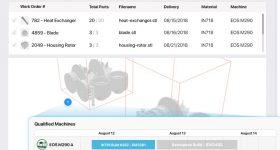 The Production Planning System via LINK3D's Digital Factory platform. Image via LINK3D.