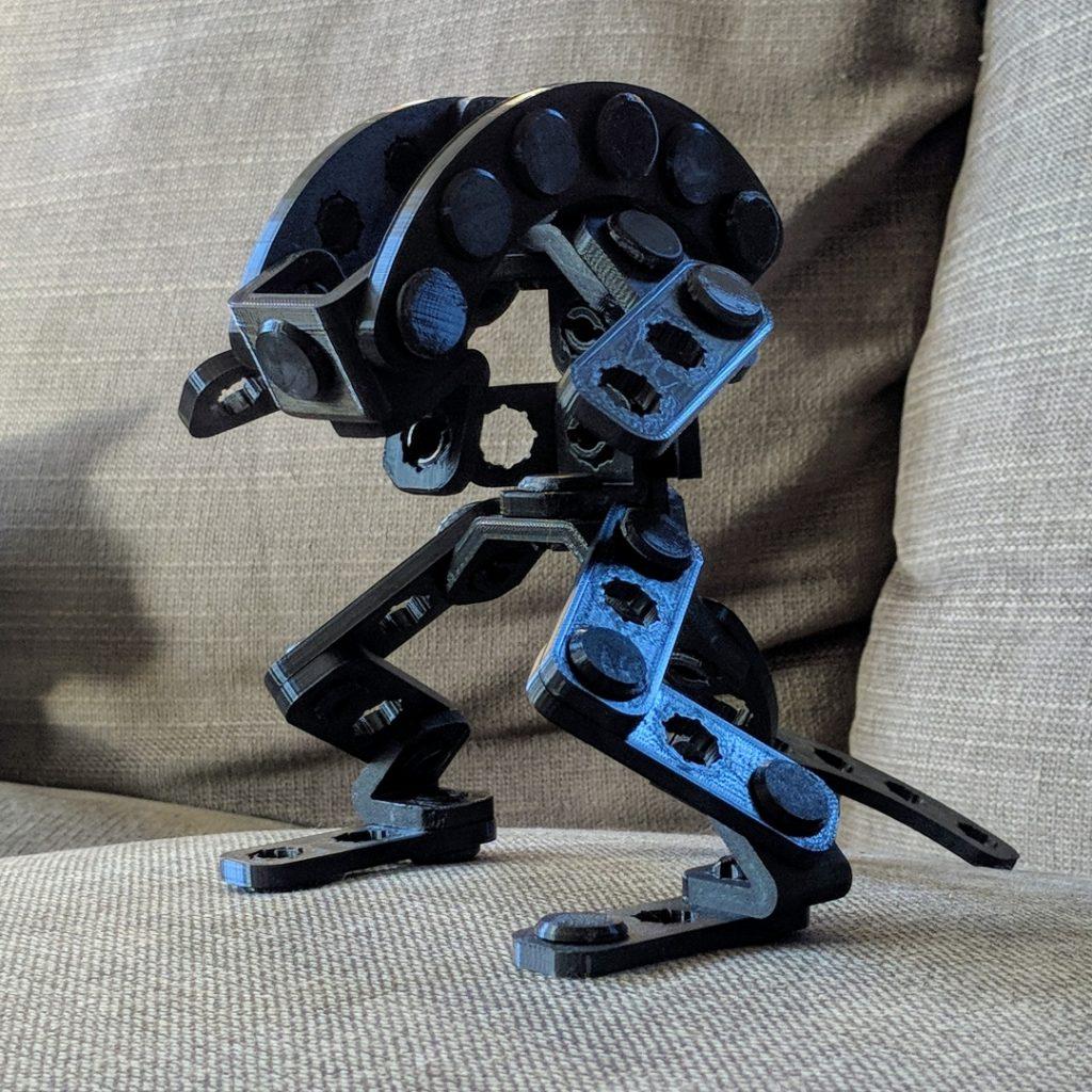 Alien playset by Clockspring. Photo via MyMiniFactory