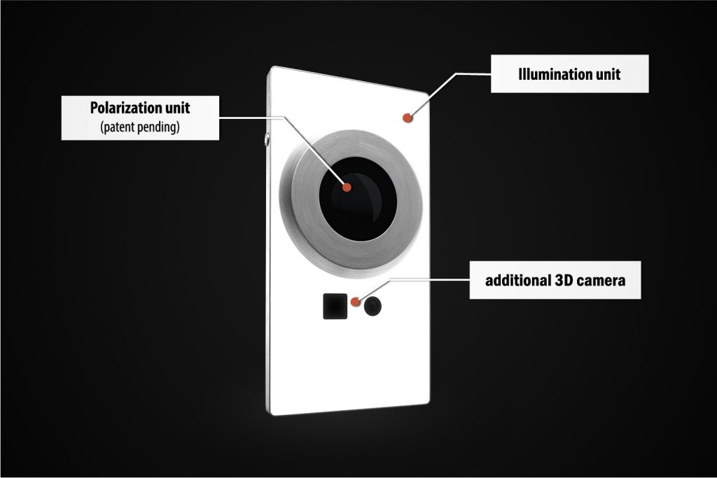 Breakdown of Scoobe3D scanner technology. Image via Scoobe3D