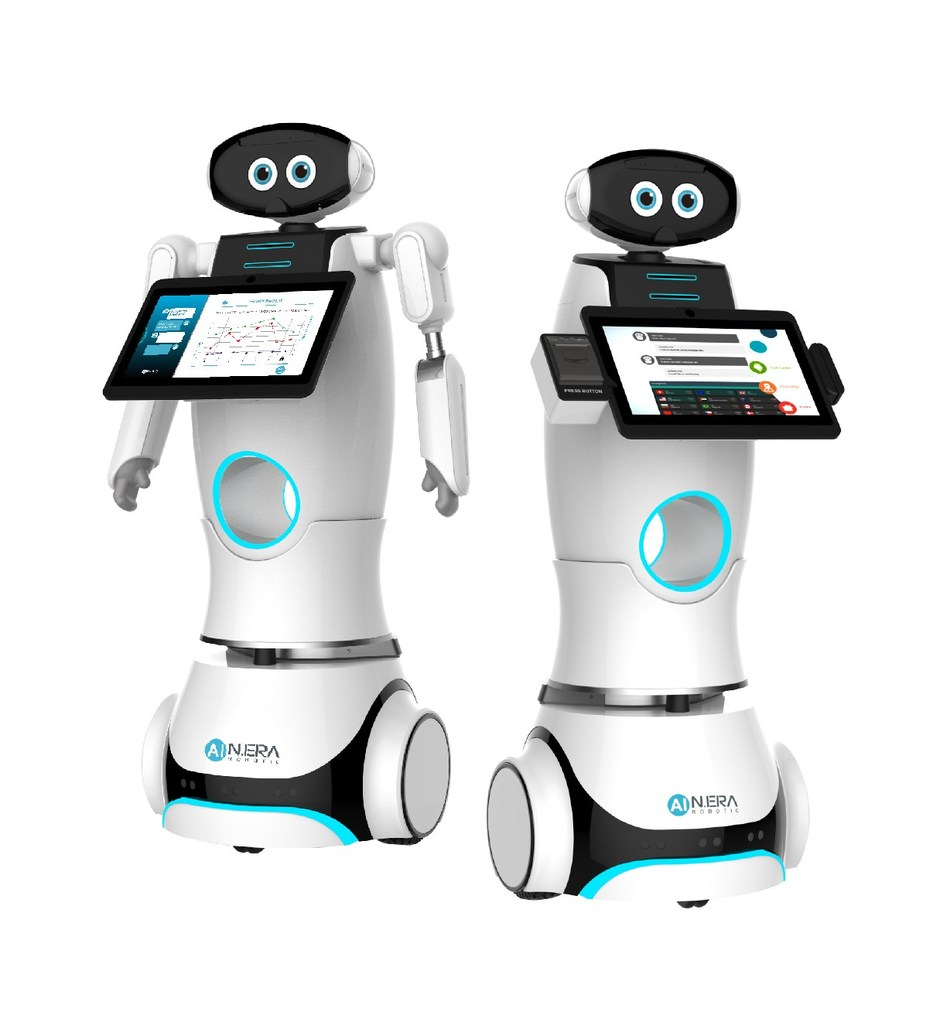 Smart Service Robots. Photo via Kinpo.