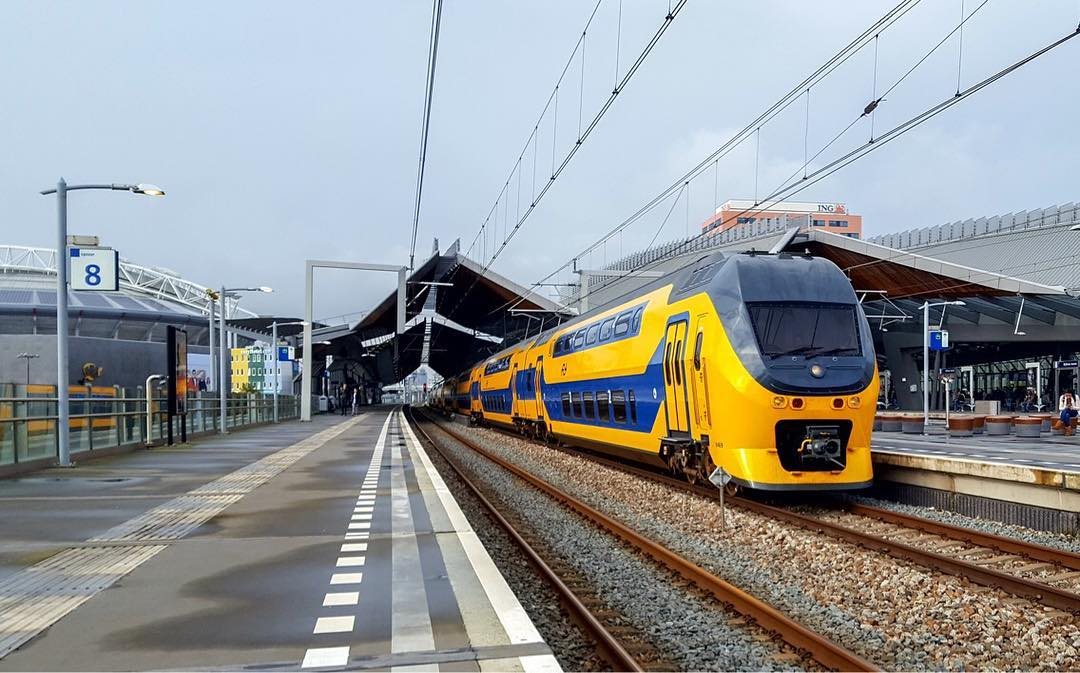 Dutch Railways' train. Photo via Dutch Railways.